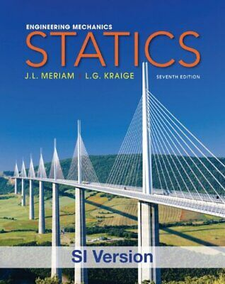 £11.99 • Buy Engineering Mechanics: Statics (Delisted) By Kraige, L. G. Book The Cheap Fast