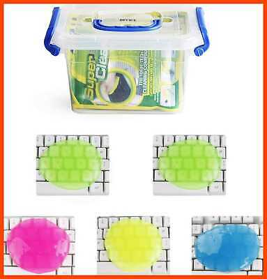$17.77 • Buy Keyboard Cleaner 5Pcs + Storage Box Cyber Cleaning Gel El 5Pcs Upgraded +Box