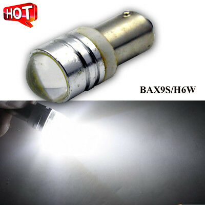 AU17.99 • Buy 10x COB 3W LED 6000k White H6W BAX9S Car Indicator Dash Door Light Side Bulb 12V