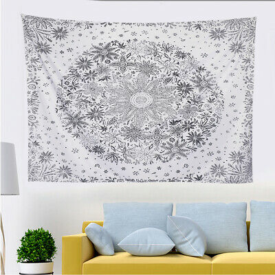 Boho Indian Tapestry Wall Hanging Mandala Hippie Bedspread Throw Cover Blanket • 8.73£