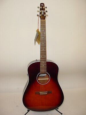 $849 • Buy Seagull Maritime SWS Burnt Umber GT QIT Acoustic Electric WITH TUNER & CAPO