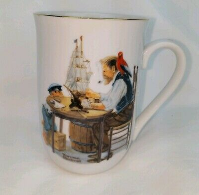 $ CDN18.39 • Buy Vintage 1982 Norman Rockwell Museum For A Good Boy Coffee Cup Mug Authentic