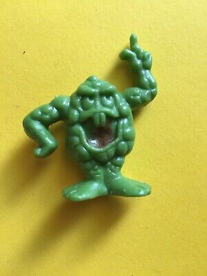 Vintage Freakies Cereal Premium Toy Boss Moss Green Toy Figure Prize  • 12.99$