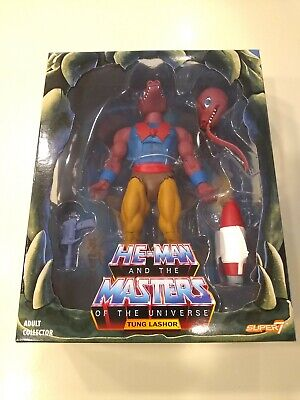 $37.99 • Buy NEW Masters Of The Universe MOTU Filmation TUNG LASHOR 2.0 Super7