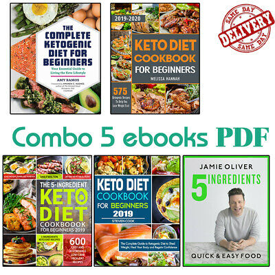 $2.99 • Buy The Keto Diet Cookbook For Beginners 2019 - (5 Ë-B00ks ᑭ.ᗪ.ᖴ) 🔥Fast Delivery🔥
