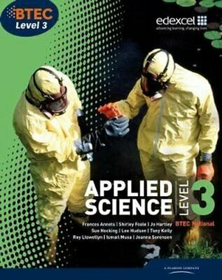 £39.37 • Buy BTEC Level 3 National Applied Science Student Book 9781846906800   Brand New