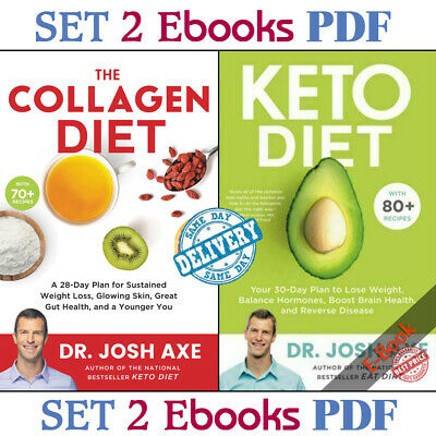 $2.49 • Buy Keto Diet Your 30-Day Plan + The Collagen Diet (Ë-B00ks ᑭ.ᗪ.ᖴ) 🔥Fast Delivery🔥
