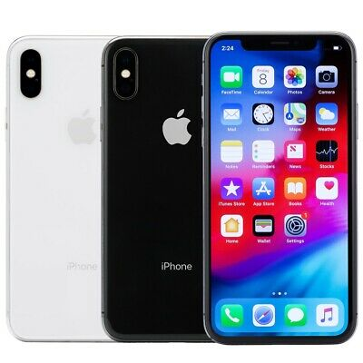 $489 • Buy Apple IPhone X Smartphone 64GB 256GB AT&T Sprint T-Mobile Verizon Or Unlocked