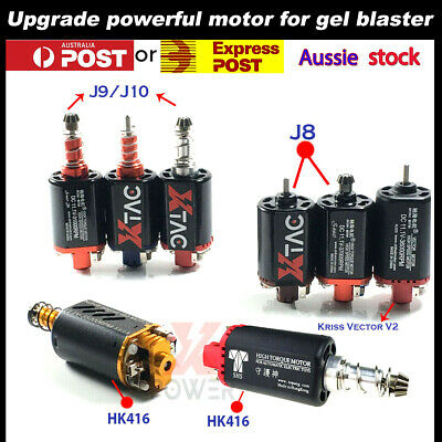 AU35.09 • Buy UPGRADE 11.1v Jinming Gel Blaster Motor High Speed J8/9/10 Kriss Vector V2 HK416