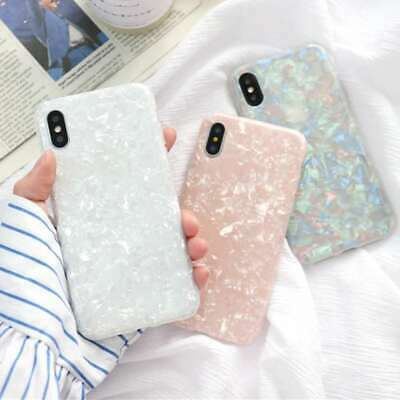 AU9.85 • Buy IPhone 11 Pro Max XS XR X 8 7 6S Plus Case Marble Silicone Skin TPU Bumper Cover