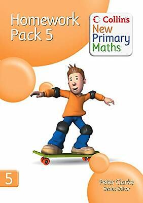 Collins New Primary Maths - Homework Pack 5 Copymasters Book The Cheap Fast Free • 9.99£