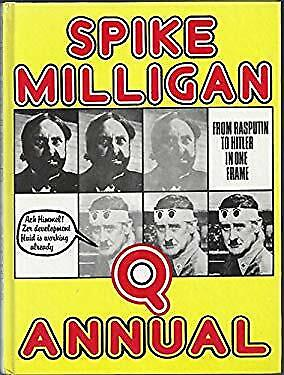 'Q' Annual Hardcover Spike MILLIGAN • 8.14£