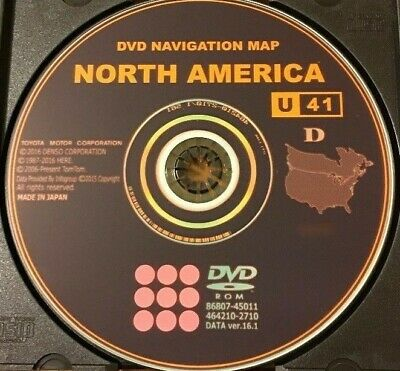 $ CDN12.12 • Buy New 2017 Gen 5 Toyota Lexus Navigation Map Update DVD Ver 16.1 U41 East AND West