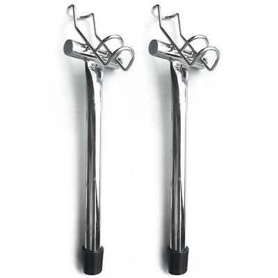 AU33.92 • Buy One Pair Of One Way Stainless Boat Fishing Rod Holders, Fishing Tackle Special!