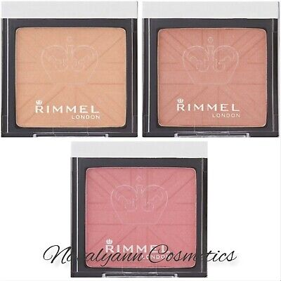 Rimmel Lasting Finish Soft Colour Mono Blush Choose Your Shade 4g  NEW + FREE PP • 3.49£