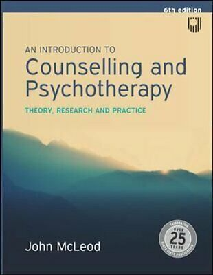 An Introduction To Counselling And Psychotherapy: Theory, Resea... 9780335243198 • 35.51£