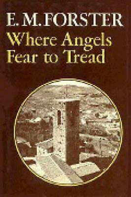 £3 • Buy Where Angels Fear To Tread Hardcover E. M. Forster