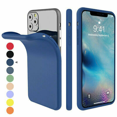 AU4.49 • Buy For Apple IPhone 11 Pro Max 8 Silicone Case Soft Slim Rubber Gel Thin Back Cover