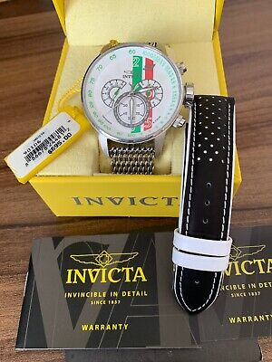 View Details Men Invicta S1 Rally Racing Chronograph Watch • 58.00£