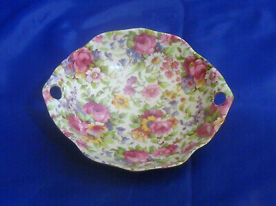 $ CDN76.09 • Buy Royal Winton Chintz Summertime Ascot Round Candy Dish  Grimwades 775