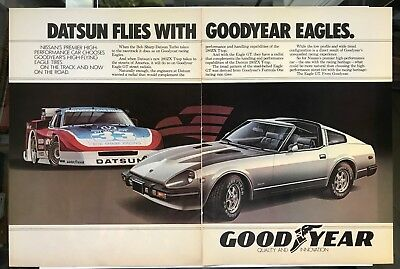 $5.96 • Buy Good Year Eagle GT Datsun 280ZX T-Top Vintage Print Ad
