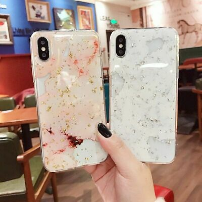 AU6.85 • Buy For IPhone 11 Pro Max XR XS 8 7 6S Plus Case Shockproof Tough Marble Cover