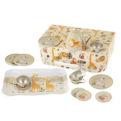 Sass & Belle Savannah Safari Animal Picnic Box Suitcase Toy Tea Set Role Play  • 16.99£