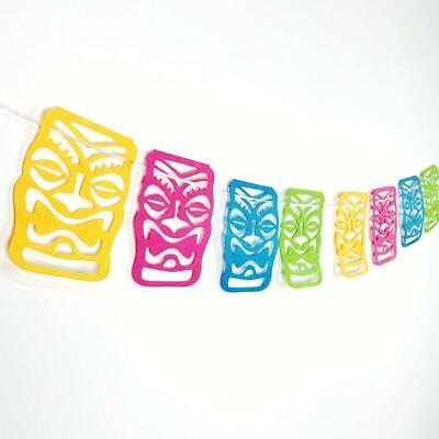 Tropical Bunting Banner Backdrop Hanging Luau Home Party Decoration Favor • 3.64£