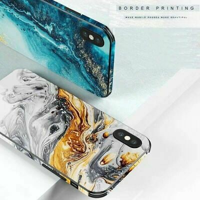 AU12.23 • Buy For IPhone 11 Pro XS Max XR 8 7 6S Plus Case Shockproof Tough GLASS Marble Cover