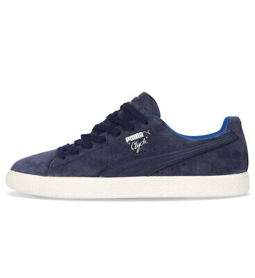 Men's Puma Clyde Normcore Peacoat Blue Suede Fashion Retro Trainers UK 6 - 12 • 39.99£
