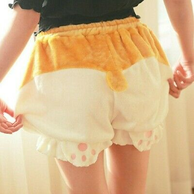 $ CDN22.82 • Buy Kawaii Pumpkin Pants Corgi Dog Shorts Pants Harajuku Japan Bloomers Shiba