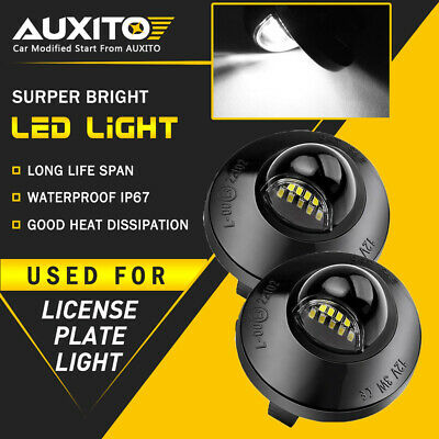 $12.99 • Buy AUXITO FOR LED License Plate Light 1990-2014 Ford F-150 Pickup Truck F250 F350 A