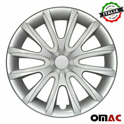 $59.90 • Buy 16  Inch Hubcaps Wheel Rim Cover For Mazda Gray With White Insert 4pcs Set