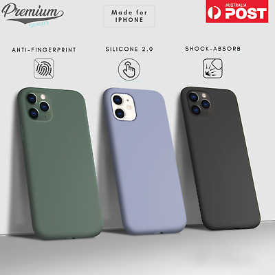 AU10.95 • Buy For Apple IPhone 11/Pro/Pro Max / SE XS XR Case Shockproof Liquid Silicone Cover