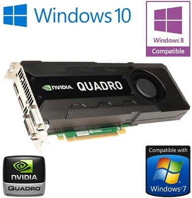 $ CDN381.96 • Buy NVidia Quadro K5000 4GB GDDR5 PCI-E Dual DisplayPort 2x DVI Graphics Card 0CFTKF