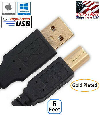 $4.89 • Buy USB DATA CABLE FOR M-AUDIO PRO TOOLS RECORDING STUDIO TRACK INTERFACE Ships Fast