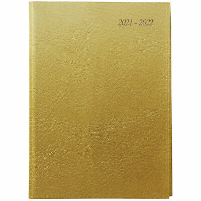 AU25.95 • Buy Cumberland Soho 2021 - 2022 Financial Year Diary A5 Day To Page Gold 51SFY