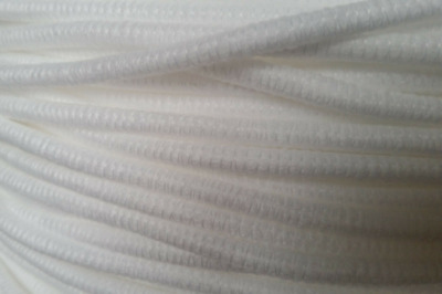 1. 5m Length Of 5mm White Piping Cord, Used In Upholstery, Cushions, Craft • 1.30£