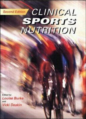 £4.99 • Buy Clinical Sports Nutrition By Deakin, Vicki Paperback Book The Cheap Fast Free