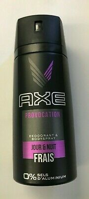 AXE   Provocation  Deodorant & Body Spray For Men 150mL Ea. (Lot Of 6 Cans) New • 14.27£