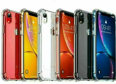 AU4.49 • Buy Clear Case For Apple IPhone 12 11 Pro Max XR 7 8 6 XS Shockproof Silicone Cover