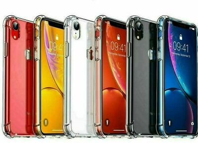 AU4.49 • Buy Clear Case For Apple IPhone  7 8 XS 11 Pro Max XR Shockproof Silicone Protective
