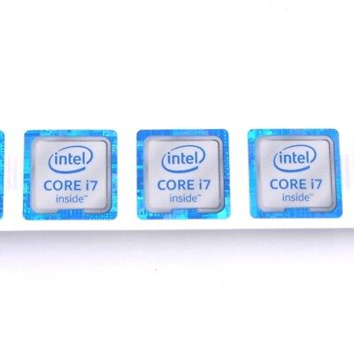 $ CDN2.52 • Buy 5x NEW For CORE I7 Inside Tm Sticker Badge Label Decal Laptop Case 18*18mm ST042