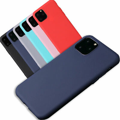 AU5.75 • Buy Shockproof Case Soft Slim Silicone Rubber Gel Cover For Apple IPhone 11 Pro Max