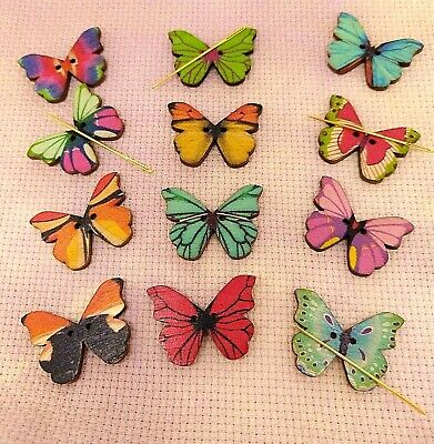 £3 • Buy Variety Of Butterfly Needle Minder Crafting Sewing Cross Stitch Embroidery Gift