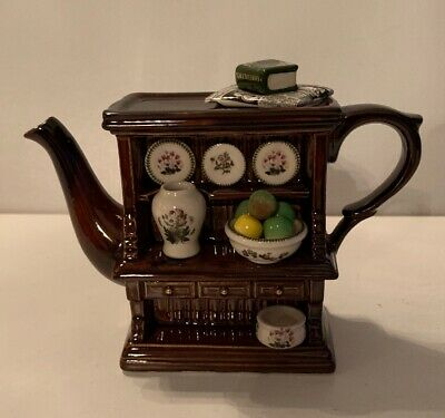 Portmeirion Paul Cardew Welsh Dresser/ Botanic Garden Mini Tea Pot • 28£