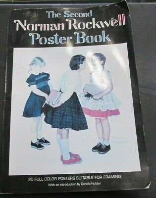 $ CDN6.47 • Buy The Second Norman Rockwell Poster Book *