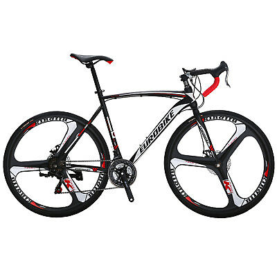 View Details 700C Road Bike Shimano 21 Speed Bicycle 54cm Disc Brakes Cycling  Men's Bikes 1 • 329.00£