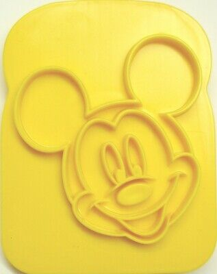 £0.99 • Buy MICKEY Mouse Cutter/stencil Toast Icing Play Doh Plasticine Paint Party Bag