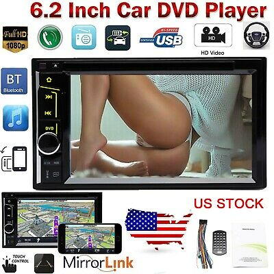 $139.98 • Buy Car Stereo CD/DVD Player Radio Mirror Link For GPS Ford F-150 F-250 F-350 F-450